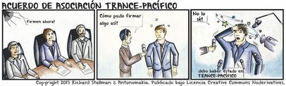 Comic, Trance Pacific Partnership - Español